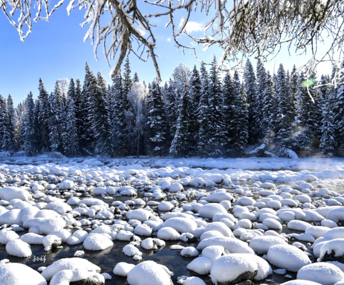 【一起出发·官方出品】新疆冬季旅游 阿勒泰滑雪记喀纳斯禾木将军山滑雪双卧6日游