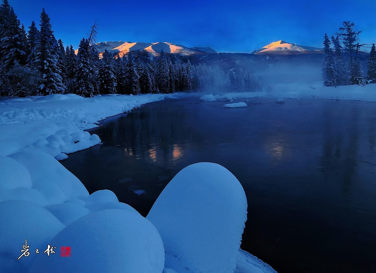 【一起出发·冬野旅拍】新疆冬季旅游 喀纳斯白哈巴禾木五彩滩将军山滑雪4天3晚,1人起发,4人小团,航拍旅拍升级,一价全包